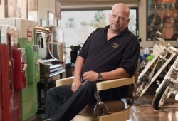 Rick Harrison stars on The History Channel show Pawn Stars (Photo courtesy of The History Channel)